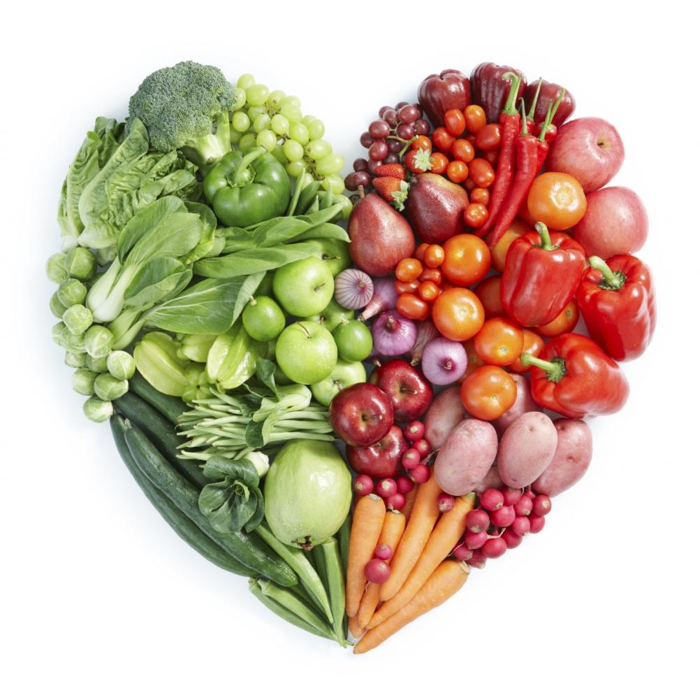 Grönsakshjärta